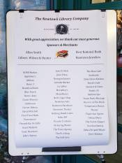 Book Lovers' Party 2019 Sponsor List