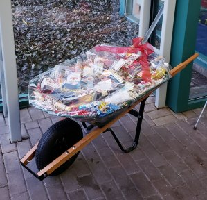 The Wheelbarrow of Cheer