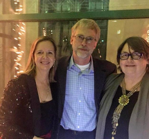 Donna Gusty, Stephen Haeckel, and Karolyn Fisher