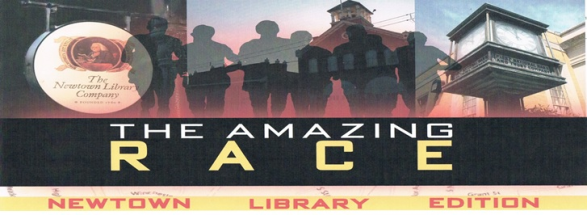 amazing-race-newtown-library-edition