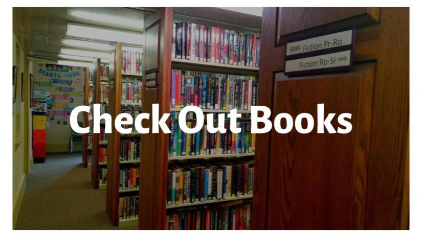 Check Out Books: Click here to learn about vestibule book pickup, children's book bundles, and more!